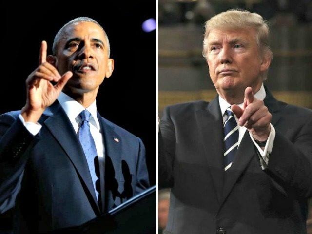 Obama speaks AP Trump Speaks AP