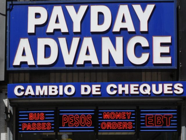 Payday Loans (Mark Ralston / AFP / Getty)
