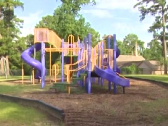 Playground in Huntsville Texas -- KHOU