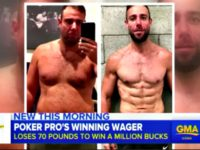 Poker Pro Loses 70 Pounds, Wins $1 Million Bet Against Friends Who Said He Couldn't