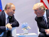 Putin, Trump Carlos BarriaReuters
