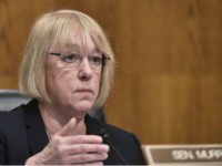 Senator Patty Murray, D-WA, ranking member of the Health, Education, Labor, and Pensions Committee, speaks during a hearing on the nomination of Rep Tom Price to be the next health and human services secretary in the Dirksen Senate Office Buillding on Capitol Hill in Washington, DC on January 18, 2017. …
