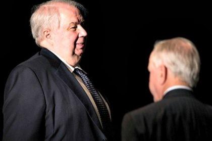 Sergey Kislyak and Someone's Head BRENDAN SMIALOWSKIAFPGetty