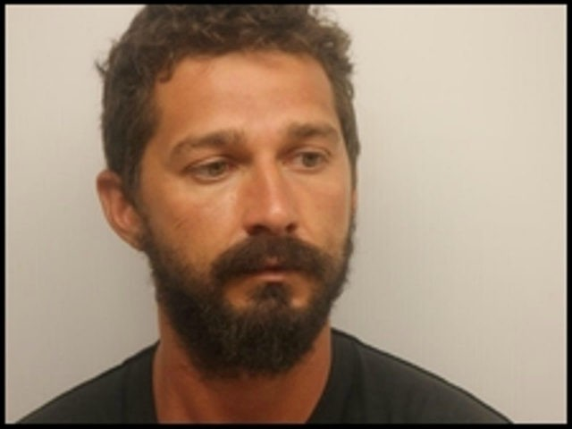 Shia LaBeouf after his arrest in Savannah. Mugshot courtesy of the Chatham County Sheriff's Office.