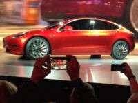 Tesla Model 3 (Justin Pritchard / Associated Press)