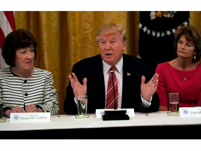 Trump, Collins, Murkowski