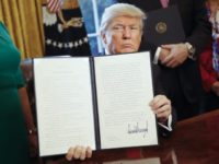 Trump Holds Executive Order AP