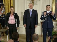 Trump Awards Medal of Valor to Police in Congressional Baseball Practice Shooting