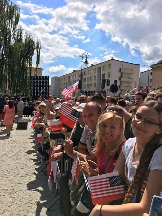 Poland Loves Trump!
