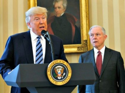 Donald Trump Slams Jeff Sessions: 'I Don't Have an Attorney General. It's Very Sad'