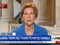 Elizabeth Warren: 'I'd Be Very Glad for Jeff Sessions to Quit'