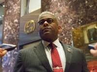 Allen West, chief executive officer of the National Center for Policy Analysis, speaks to members of the media at Trump Tower in New York, U.S., on Monday, Dec. 12, 2016. Senate Majority Leader Mitch McConnell said he had the 'highest confidence' in the intelligence community, in sharp contrast to President-elect …