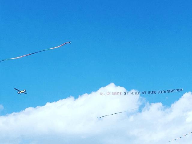 Chris Christie banner