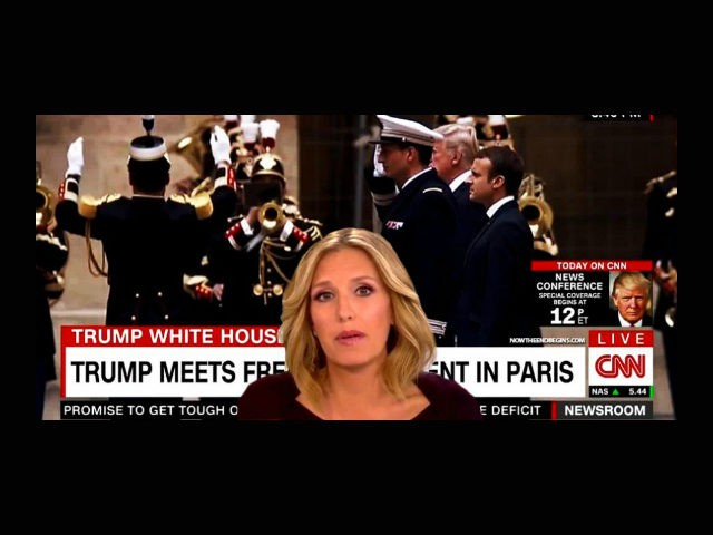 CNN anchor Poppy Harlow mistook the Star Spangled Banner for the French national anthem during a live broadcast Thursday.