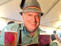 Photoshopped image of Bill de Blasio enjoying G20 summit in Germany