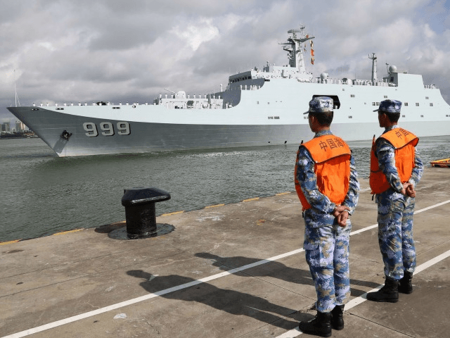 China ships troops to its first overseas base in Africa