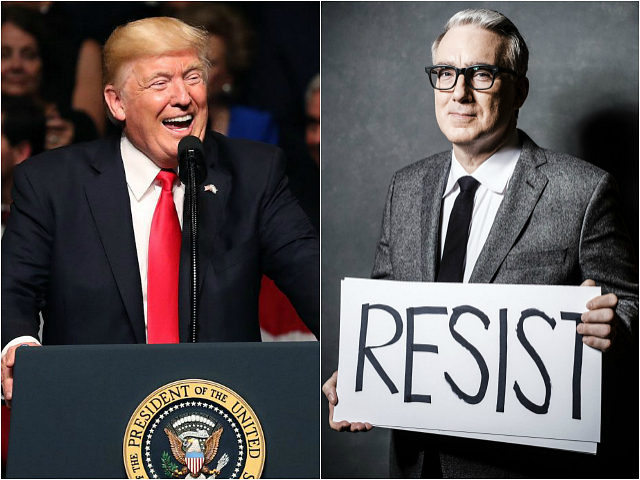 Donald Trump and Keith Olbermann
