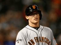 Giants Outfielder Forgets How Many Outs They Have, Lets Runner Advance