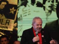 Lula discursa no 6º Congresso do PT. - Evaristo Sá / AFP/02-06-2017