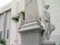 Hillsborough County Courthouse, Florida, Confederate monument