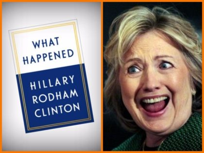 """Hillary Clinton with memoir about 2016 election loss to Donald Trump, """"What Happened"""""""