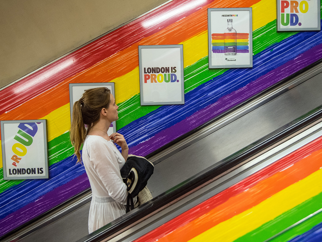 pride escalator