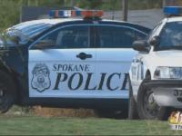 Spokane police car