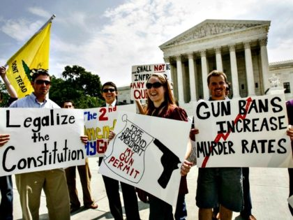 supreme court 2nd Amend Protest Jose Luis Magana AP