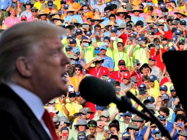 trump-speech-to-boy-scouts-raises-ire- Thompson Reuters