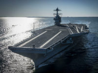 Navy's Newest Aircraft Carrier is First to Have Gender-Neutral Bathrooms