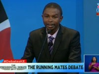 Kenyan Vice-Presidential Candidate Debates Himself After 5 Opponents Boycott Event