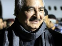 File picture of Field Marshal Khalifa Haftar, the leader of the self-styled Libyan National Army, who has met with UAE leaders for talks on military cooperation