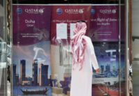 A new Qatari committee is to receive compensation claims from major companies such as Qatar Airways, whose Riyadh branch is shown in this picture from June 5, 2017, as well as individuals affected by sanctions against the country