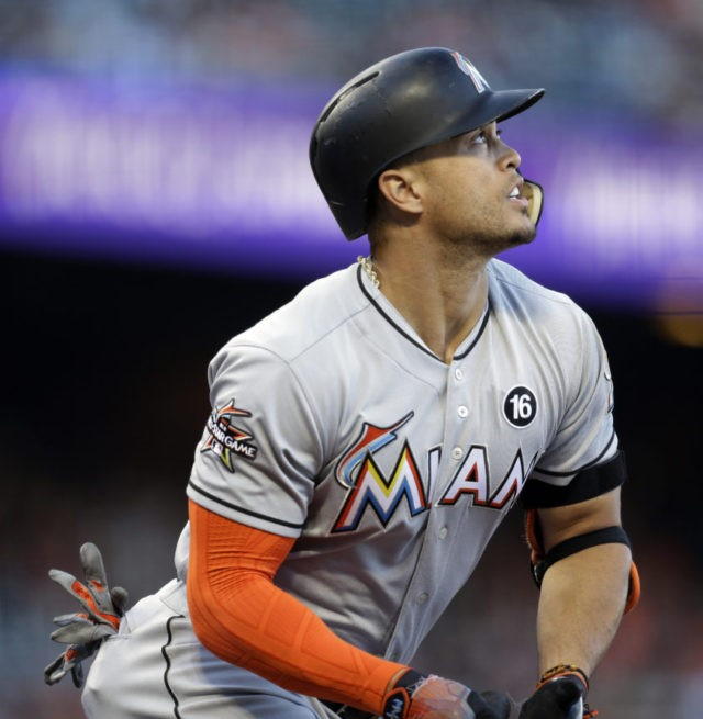 Giancarlo Stanton: LEADING OFF: Stanton, Judge Set For All-Star Home Run