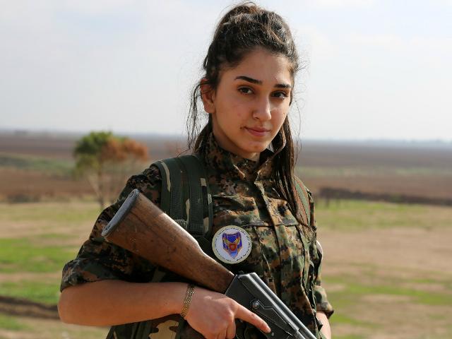 yazidi woman fighter