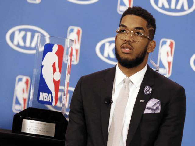 Karl-Anthony Towns Uses Custom Nikes to Combat Racism