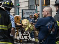 In this June 27, 2017 file photo, emergency service personnel work at the scene of a subway train derailment in the Harlem neighborhood of New York. Transit in and around New York City has been plagued by a series of derailments, delays and breakdowns, with the latest one coming on …