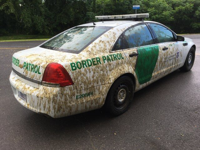 Man to answer charges he sprayed manure on Border Patrol vehicle