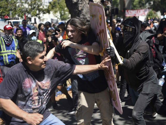 Anarchists Antifa Berkeley (Josh Edelson / Associated Press)