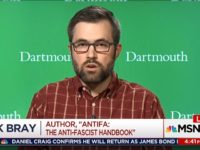 Mark Bray on Antifa: Nazism Had to be 'Stopped by Force,' and 'Self-Defense Is Necessitated' Today