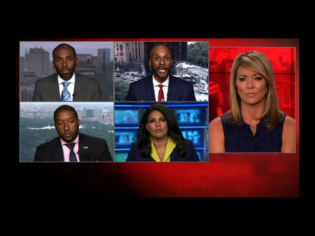 The vitriolic back and forth between two CNN political commentators escalated into an on-air near meltdown Monday, ending with the anchor pleading for her panelists to respect one another. The heated exchange bubbled over when Democratic commentator Keith Boykin questioned whether Paris Dennard, a Republican supporter of President Trump, is truly black.