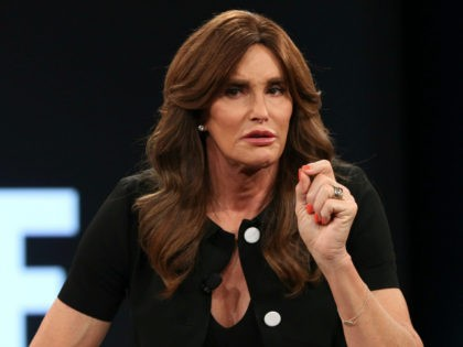 Caitlyn Jenner confronted by Trans activist pic monkey