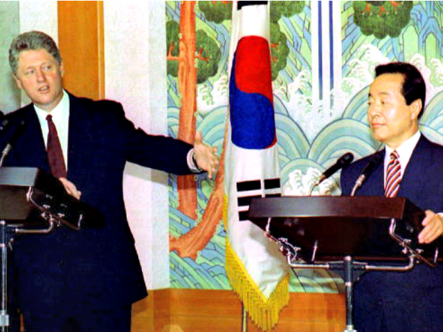 FLASHBACK - President Clinton Threatens North Korea: 'It Would Be the End of Their Country as They Know It'