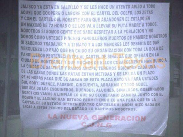 Coahuila Banner