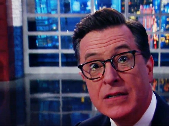 Stephen Colbert Promises 'Front-Stabbing' During Anthony Scaramucci Interview