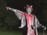 Columbus Statue - KHOU