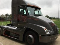 Cummins electric big rig (Cummins / Twitter)