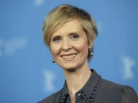 In this Sunday, Feb. 14, 2016 file photo, Actress Cynthia Nixon poses for the photographers during a photo call for the film 'A Quiet Passion' at the 2016 Berlinale Film Festival in Berlin, Germany, Cynthia Nixon's name is being mentioned as a possible candidate for governor in New York, Friday, …