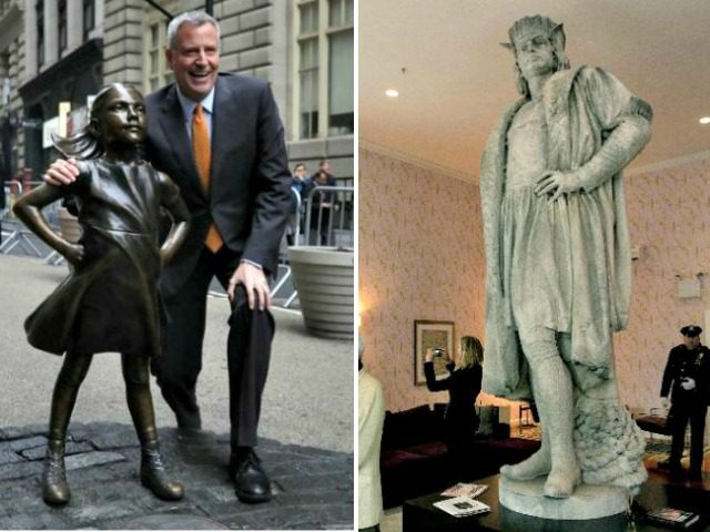 NYC Mayor considering removing statue of Columbus