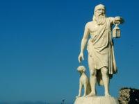 Diogenes statue Sinop, Turkey